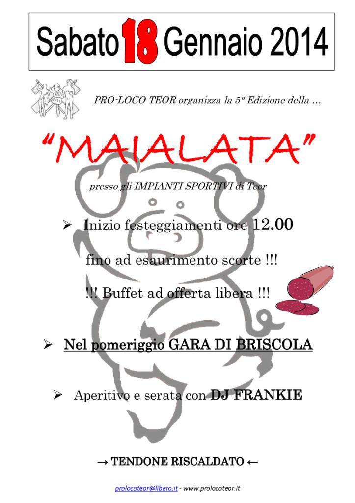 La Maialata 2014
