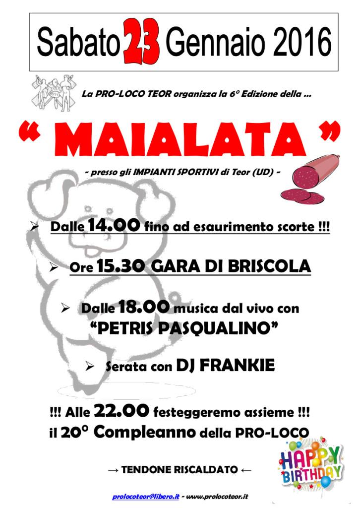 La Maialata 2016_volantino A4