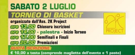 Torneo Basket GV 2016