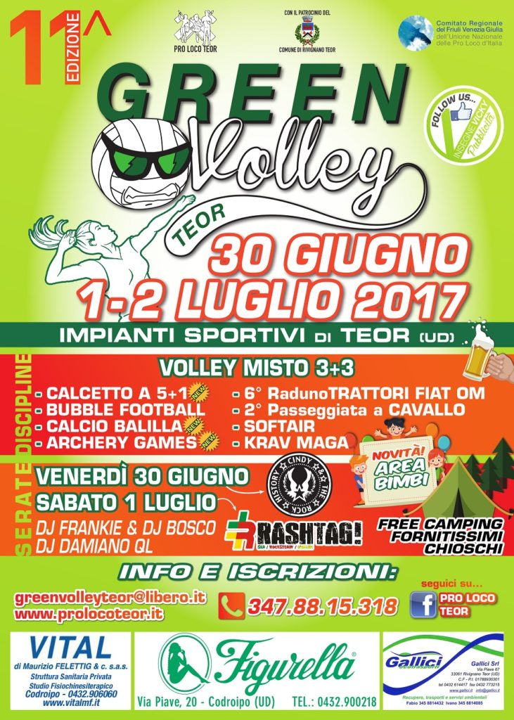 Green Volley 2017_manifesto 50x70 DEF
