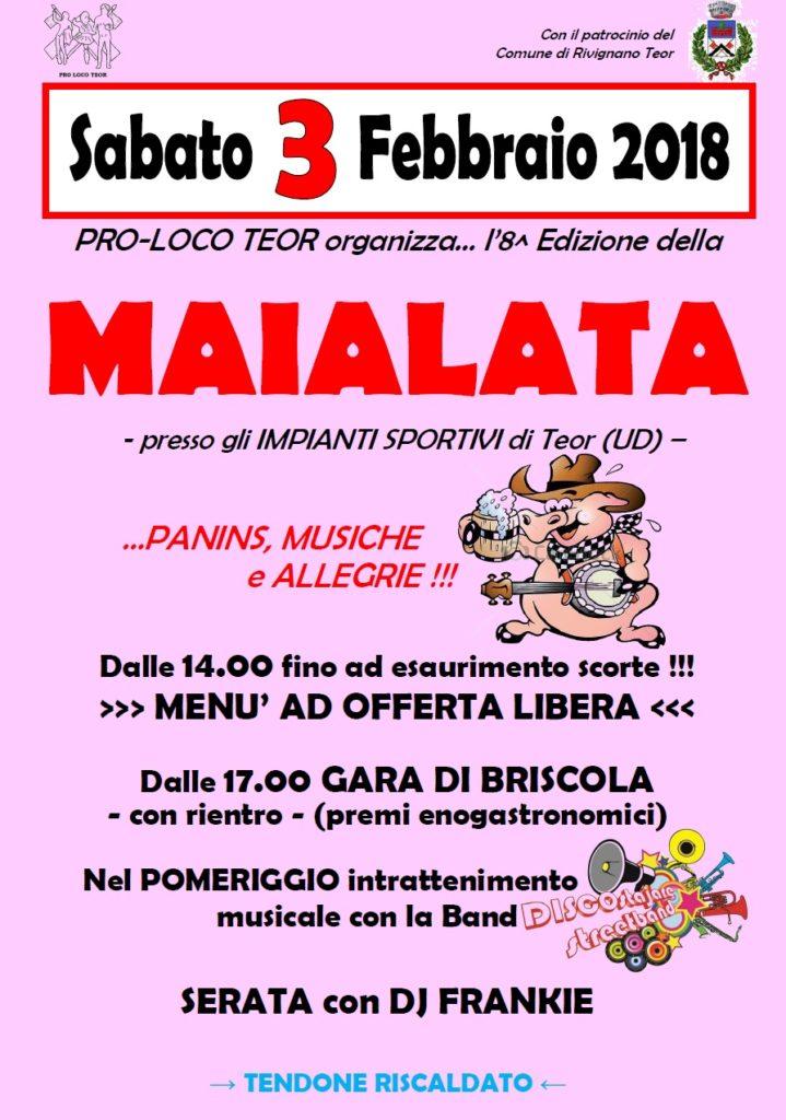 Maialata 2018_locandina A4 DEF